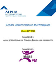 Gender Discrimination in the Workplace Report